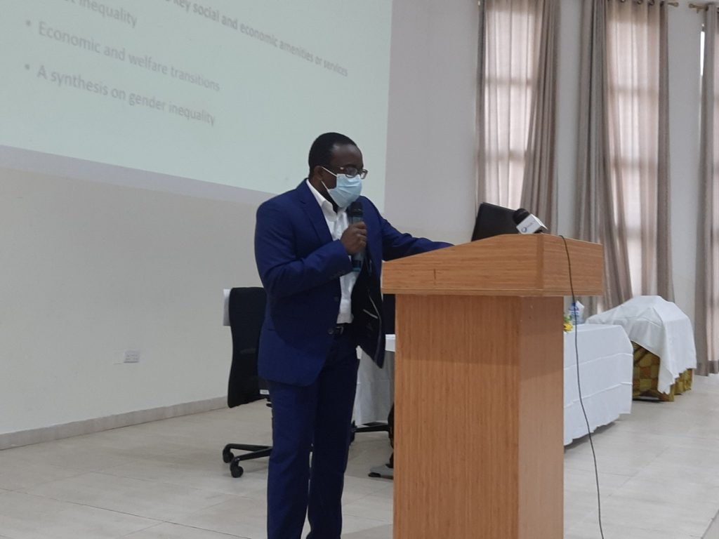 Dr Richmond Atta-Ankomah, ISSER, University of Ghana