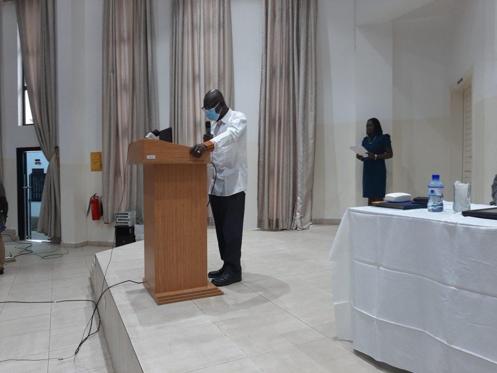 Professor Felix Asante, Pro-Vice Chancellor (ORID at University of Ghana