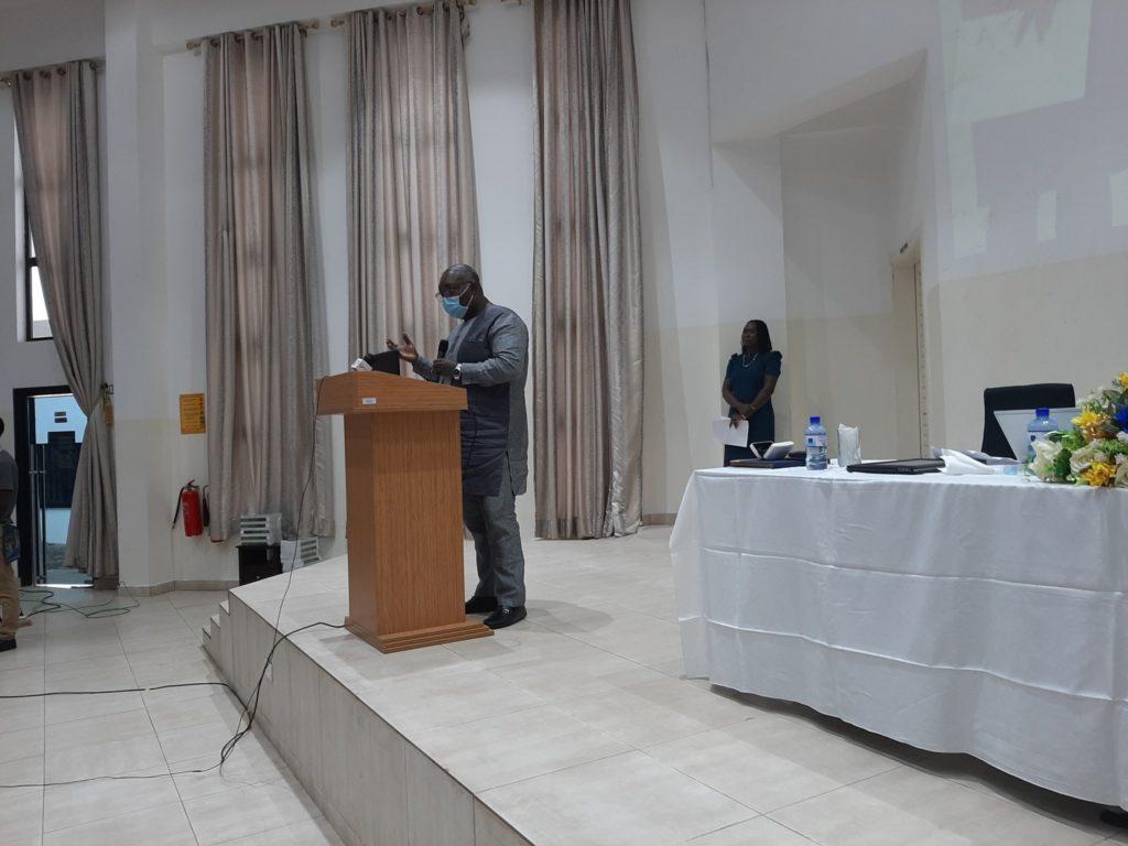Professor Robert Osei, Coordinator of ACEIR Node- Ghana