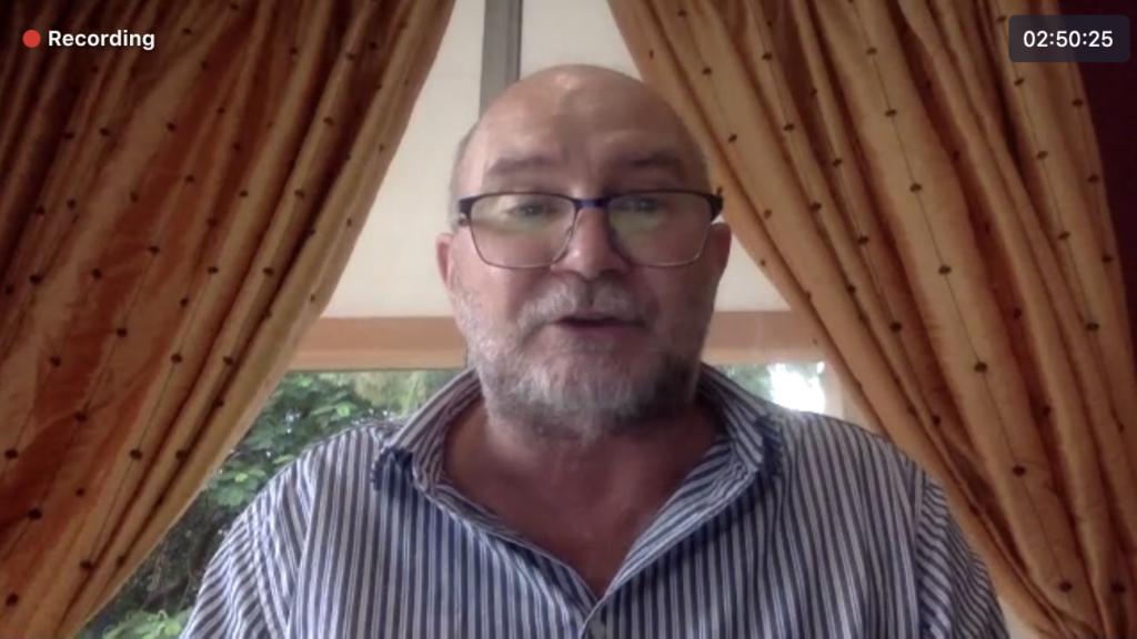 Robert Hanna, director of African Sun Energy in Botswana